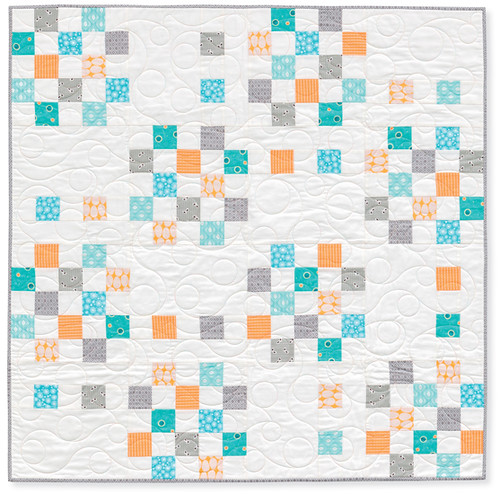 quilts made with love. bitsy baby.