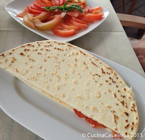 Piadina Tomatensalat