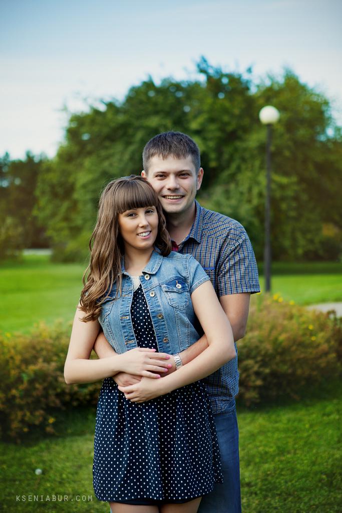 Фотопрогулка пары Олеси и Алексея