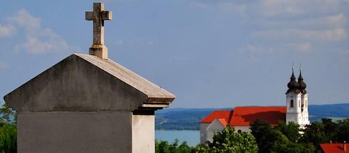 abbey nikon hungary ungarn balaton calvary magyarország tihany plattensee apátság balatonfelvidék anoplius kálvária nikond40x d40x