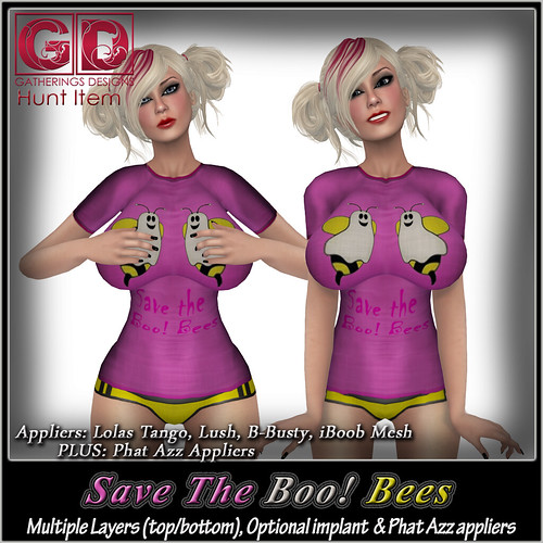 GD Save The Boo! bees Hunt item