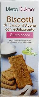 Biscotti di Crusca d'Avena Gusto Cocco