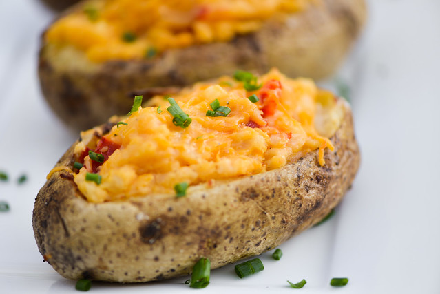 Pimento Cheese Twice-baked Potatoes