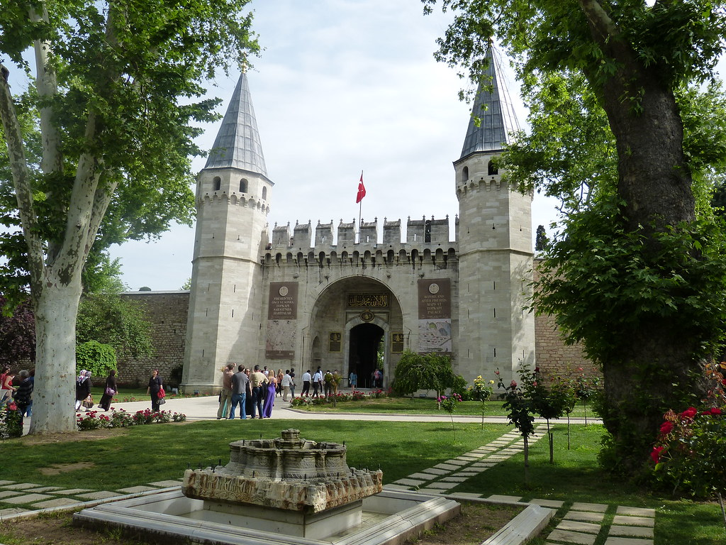 Gate of Salutations, Topkapi Palace
