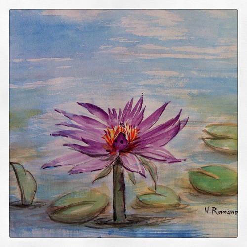 Flower Art by Sparrow Little