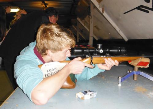 Hamish takes aim