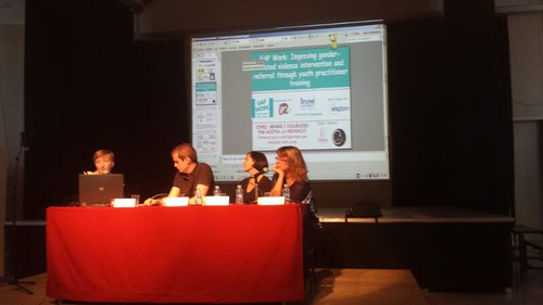 11-12/11/2013, Gap work at the conference on Expanding the horizons of gender violence, Parets del Vallès (Spain)