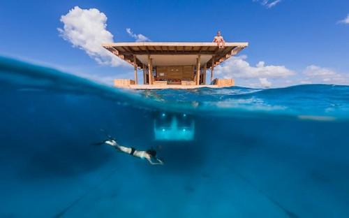 The Manta Resort – подводный эко-отель в Африке