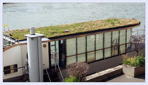 Paris, hausboot an der Seine | 2013-09