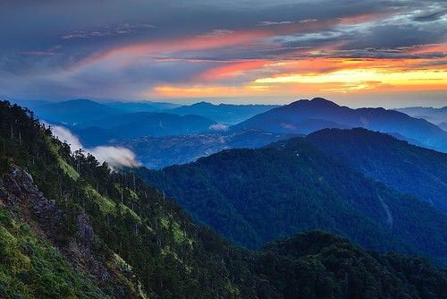 Sunset @ Mt. Hehuan 合歡夕彩