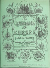 """British Library digitised image from page 187 of """"The American in Europe: being 'guesses' and 'calculations' on men and manners; made during a tour through the most important portions of Europe [With plates.]"""""""