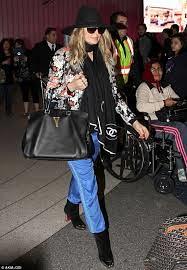 Fergie Floral Bomber Jacket Celebrity Style Women's Fashion