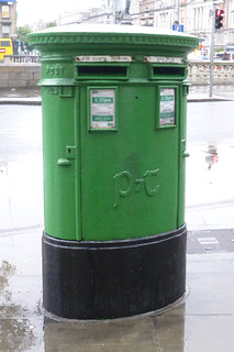 Dublin post box.