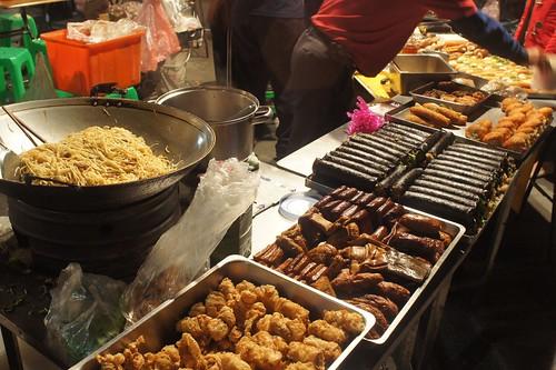 溪湖夜市素食