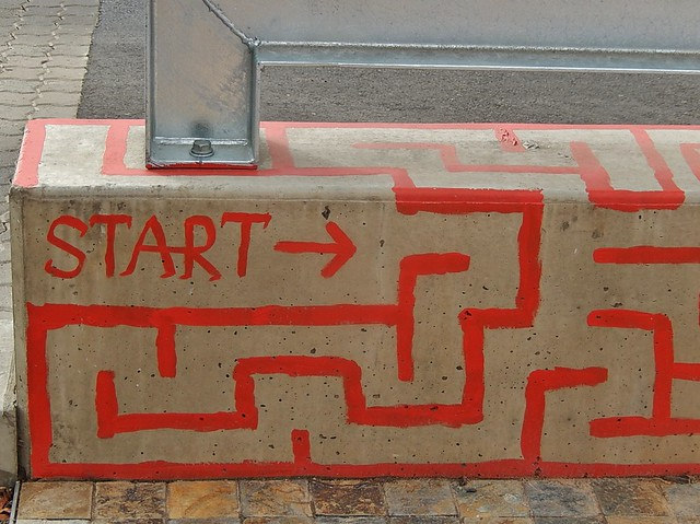 Maze Starts Here