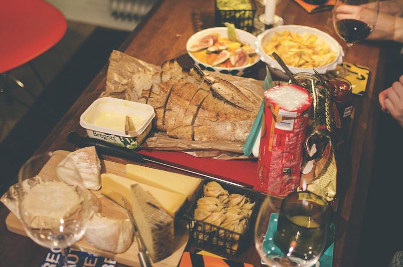 La neta, ost och vin.