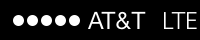 Left statusbar image LTE