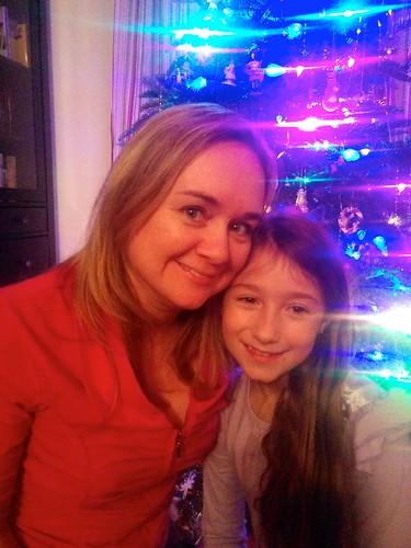 Beth & Madeline Christmas 2013