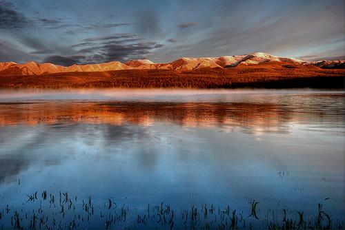lake sunrise mongolia mongolie mongolei монголулс хөвсгөл