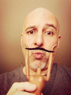 Day 353 of 365 - Barbie 'Stache