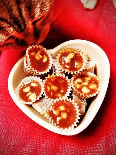christmas saffron toffee ~ saffransknäck