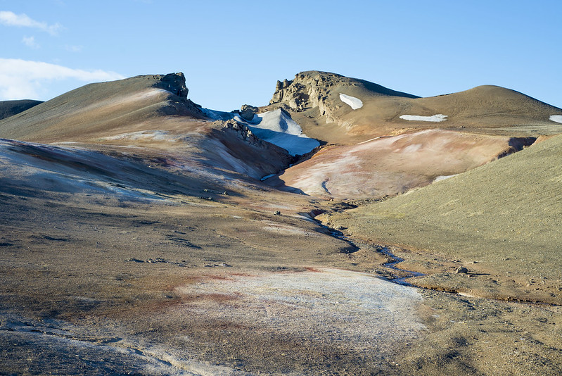 Coloured mountain Iceland
