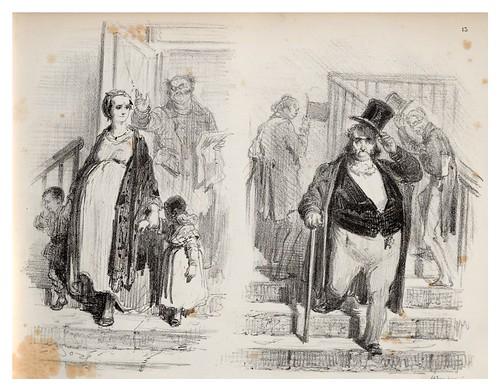 013-Buitres-La Ménagerie parisienne, par Gustave Doré -1854- Fuente gallica.bnf.fr-BNF
