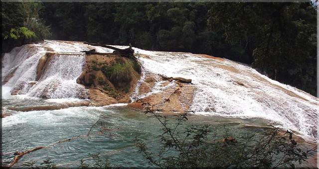 México - Catarata Agua Azul / Chiapas