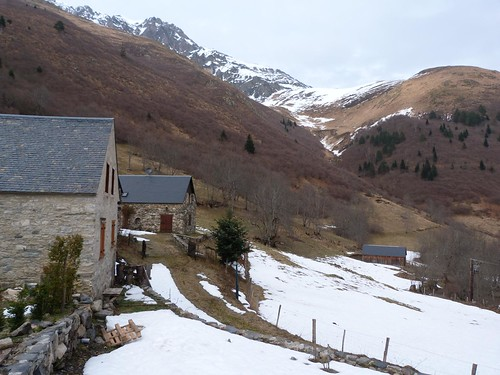 Los graneros de Lurgues (Francia)