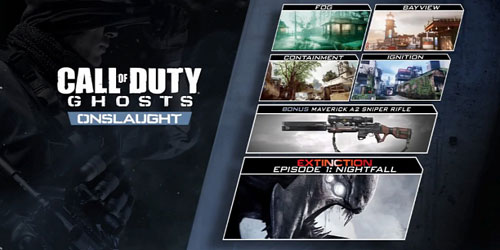 Call of Duty: Ghosts - Extinction Nightfall Intel Locations