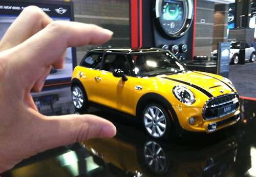 I crush the new F56 MINI Cooper