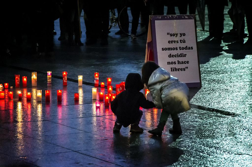 Concentration pro-abortion | Concentración contra la reforma de la ley del aborto