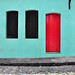 Rouge + turquoise by | Kmye |