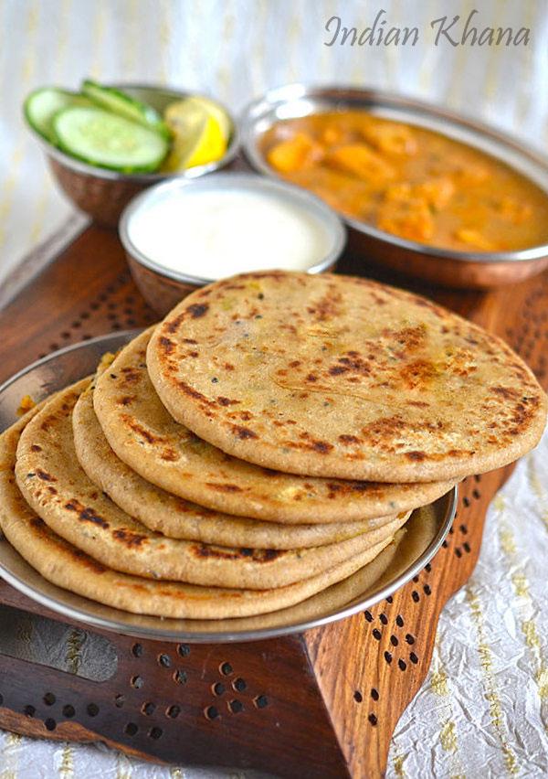 Aloo Gobi Gobhi Paratha Paratha Recipes Indian Khana