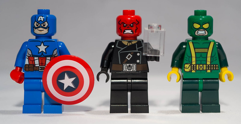 REVIEW LEGO 76017 Marvel Super Heroes - Captain America contre Hydra
