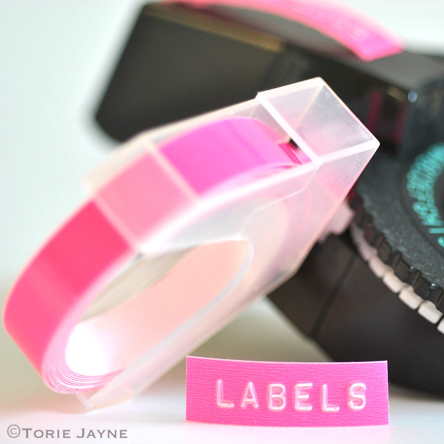 neon labels