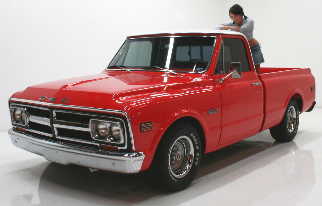 1968 Gmc Truck Photo Shoot By Clean Cut Creations