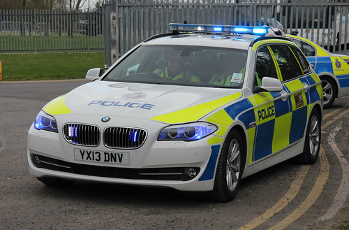 Humberside Police BMW 530d Touring Roads Policing Unit Traffic Car