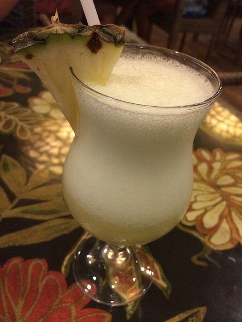 Pineapple daquiri - Paraiso Grill