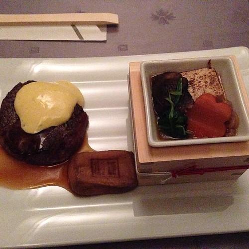 Swissôtel Nankai Osaka Hanagoyami Chef Ikebe New Style Beef Sukiyaki