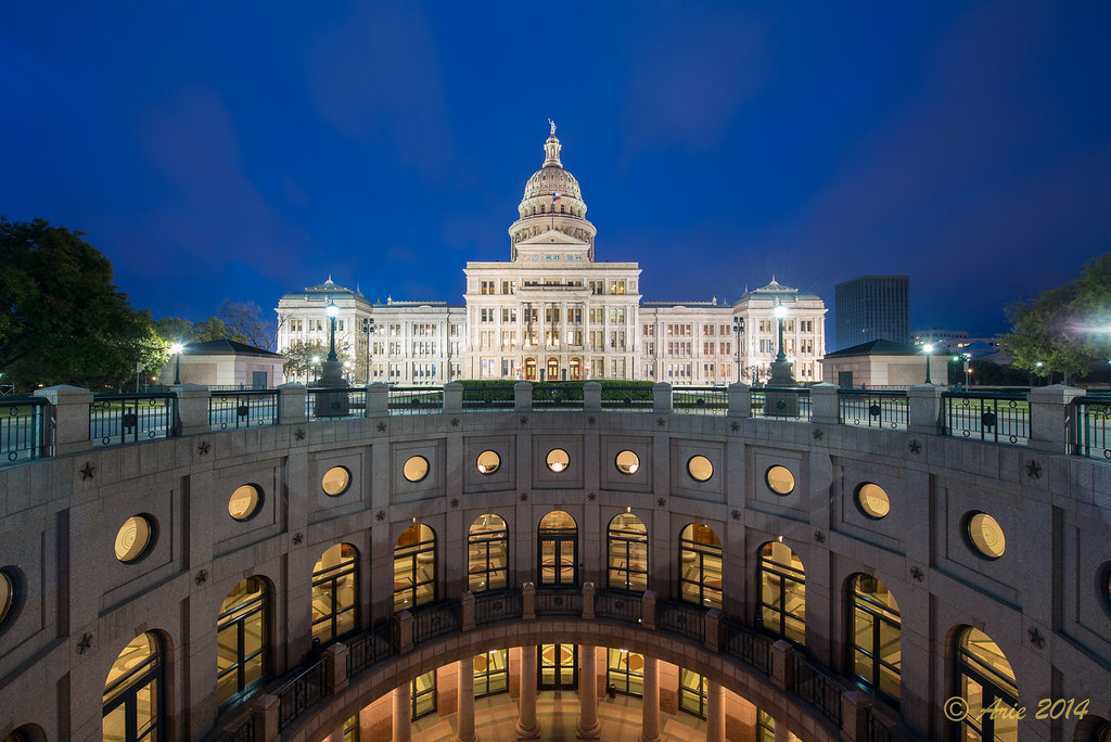Texas State Capital at Sunrise