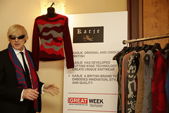 Howie Jeavons, Director of Karje at meet the Hong Kong Buyers