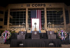 Fort Hood Memorial Ceremony