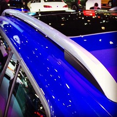 Roof rails on the #VWGolf Sportwagen Concept at #NYIAS #VWNYIAS - photo from vw