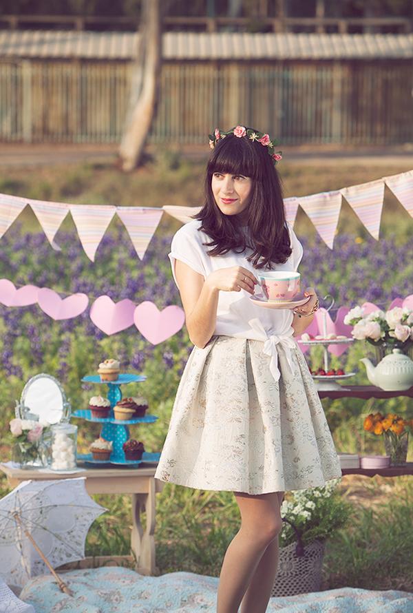 birthday, tea party, birthday girl, birthday picnic, fashion blog, בלוג אופנה, אפונה בלוג אופנה, מסיבת תה, פיקניק יום הולדת