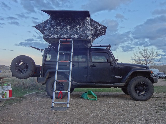& position of your roof top tent - Jeep Wrangler Forum