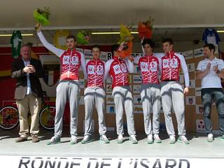 Vainqueurs du contre-la-montre par équipe (Vendée U)
