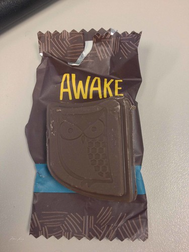 Awake Chocolate unwrapped