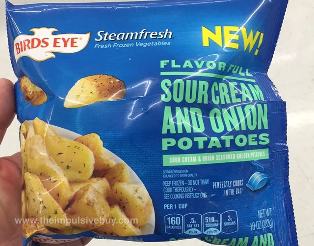 Birds Eye Steamfresh Flavor Full Sour Cream and Onion Potatoes