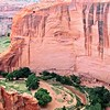 Another view of Canyon de Chelly from sculptor Frank Morbillo. There are some Navajo ruins to the right. #art #artist #lifeofanartist #canyonroad #canyongram #artworld #artnews #wildwest #instaart #artgram #travel #hiking #canyons #canyonlands #canyondech